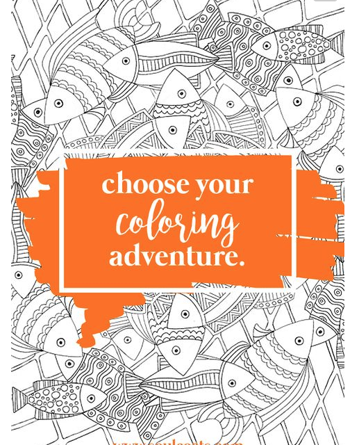 Choose Your Coloring Adventure with Soul Coats