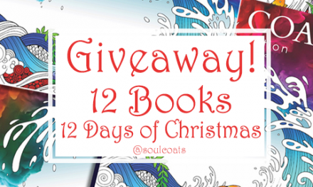 Adult Coloring Book Giveaway – 12 Days of Christmas from Soul Coats!