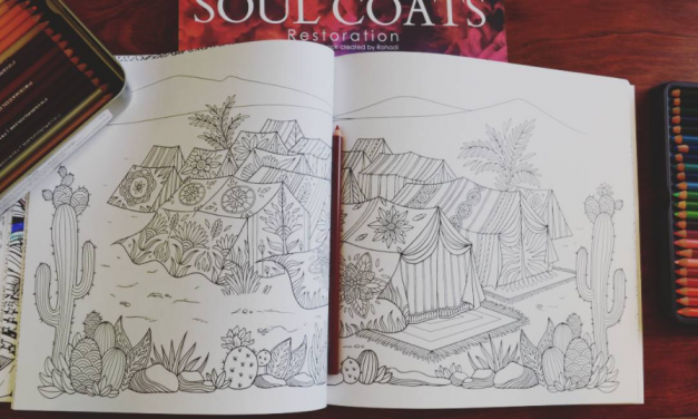 Wandering Israelites Reflection – Coloring Guide