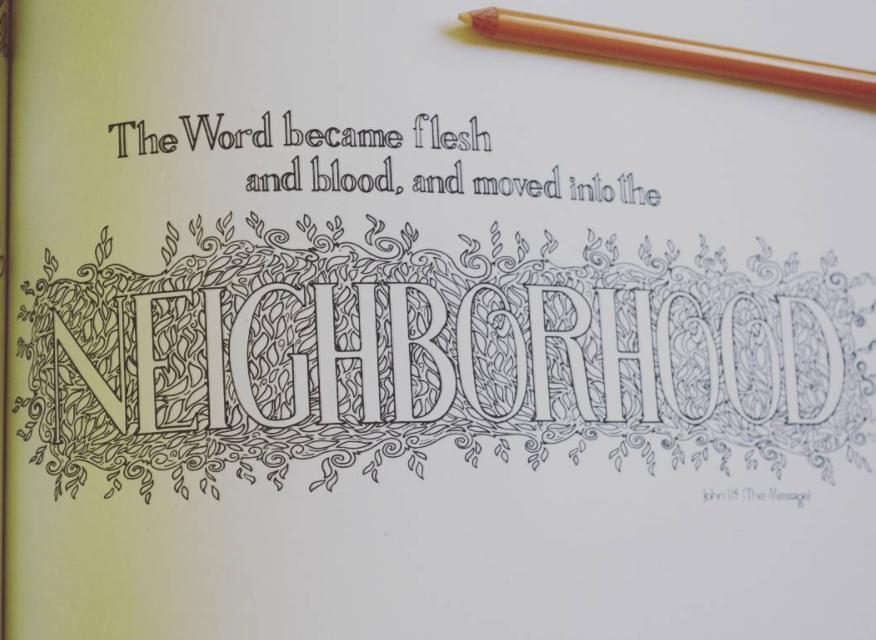 Incarnation in the Neighborhood – John 1:14 Reflection
