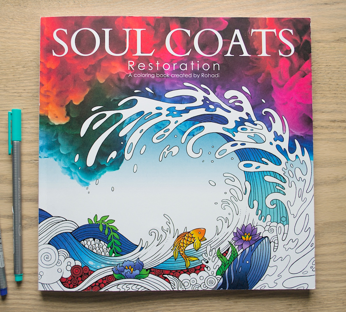 Soul Coats Resotration Adult Coloring Book