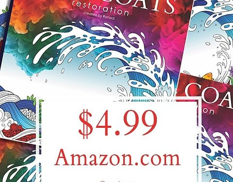 75%-off Retail Adult Coloring Book Sale